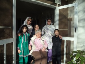 Family in Peshawar winter 2015