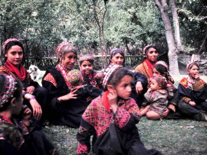Kalash are apparently a population and genetic isolate, the the isolation appears to have occurred more than 10,000 years ago.